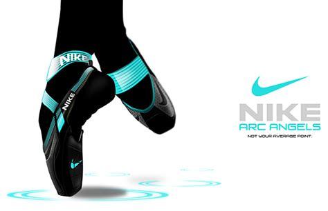 nike ballet shoes nike arc pointe shoe on behance