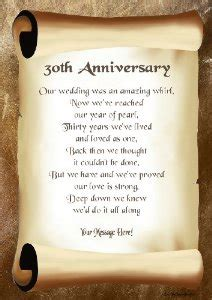sayings for 30th wedding anniversary 30th wedding anniversary quotes quotesgram