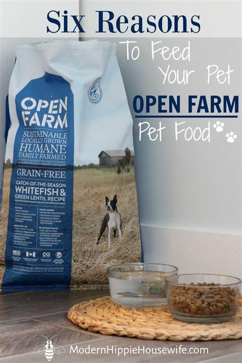 open farm food 6 reasons to feed your pet open farm pet food modern hippie health wellness