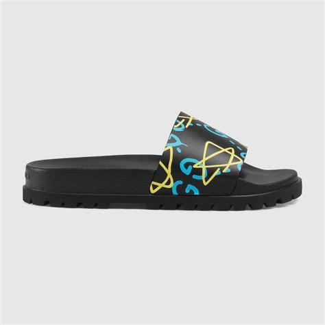 gucci sandals mens gucci men s guccighost sandal 429360dss008403