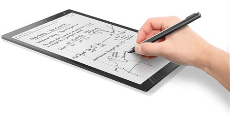 e paper writing tablet sony digital paper dpt rp1 e ink tablet is actually