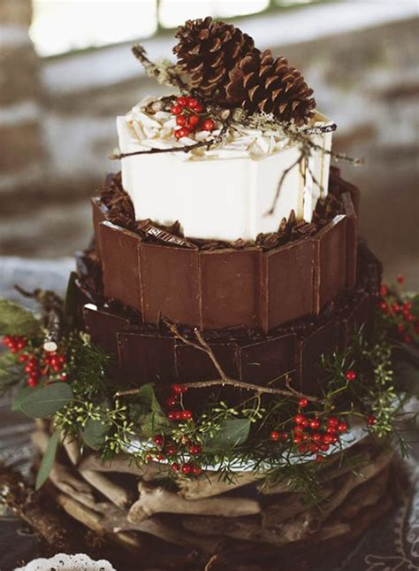 winter wedding cakes  delicious cakes   beautiful