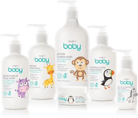 Baby Shower Products by Nvey Baby Organic Gentle Baby Care Products Moor