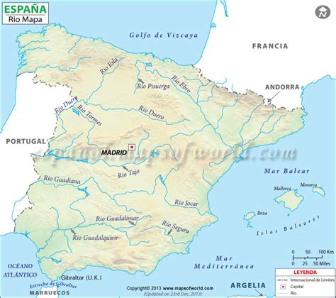 los rios de espana mapa rios de espa 241 a mapa rios espa 241 a