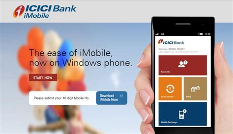 icici bank mobile icici bank tops chart in mobile banking transactions