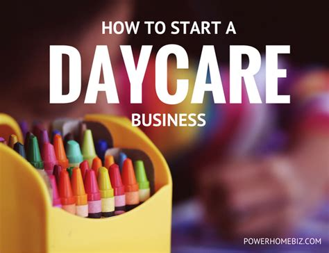 how to start a daycare starting a daycare business how to start a daycare business