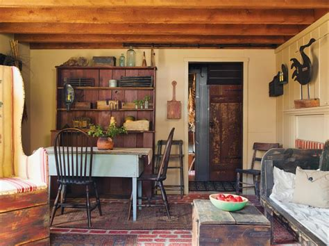 life in a reproduction saltbox old house online old folk art in a reproduction saltbox old house online
