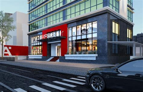 design center hanoi h 228 fele welcoming visitors to its biggest design center in
