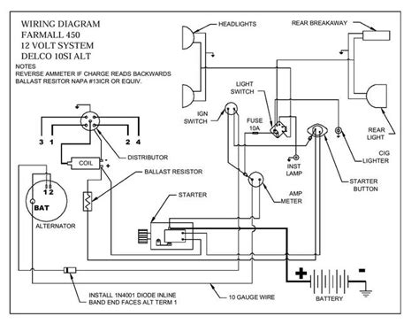 450 wiring diagram farmall international harvester