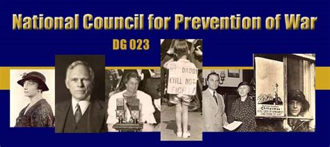 preventing war and promoting peace a guide for health professionals books records of national council for prevention of war dg 023