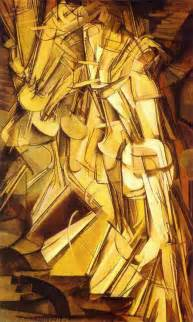 Duchamp Stairs marcel duchamp a riotous a z of his secret life art and
