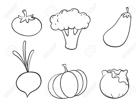 vegetables clipart black and white black isolated vegetables fruits doodle icons white