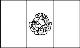 coloring page mexican flag mexico coloring pages getcoloringpages