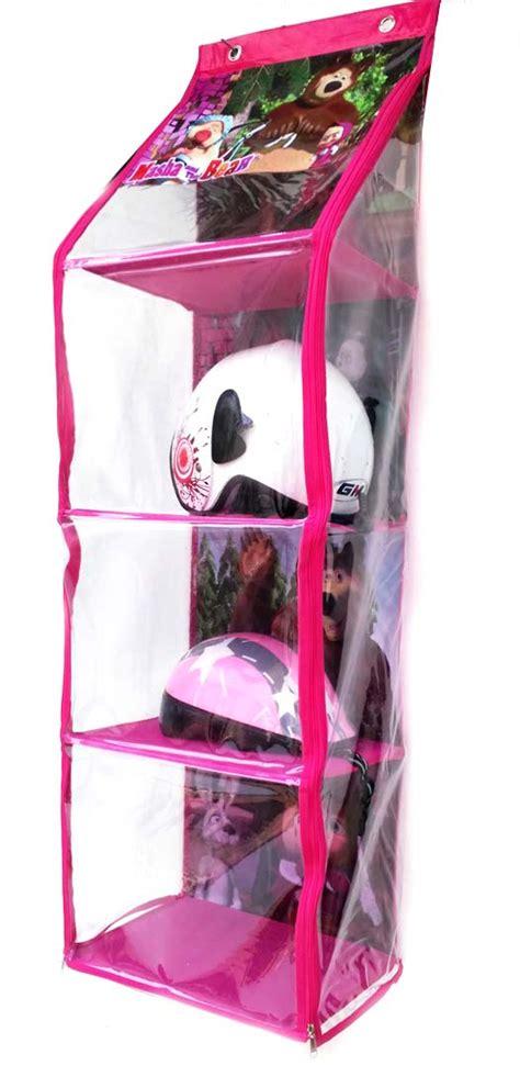 Rak Helm Karakter Item toys box lipat karakter toko bunda
