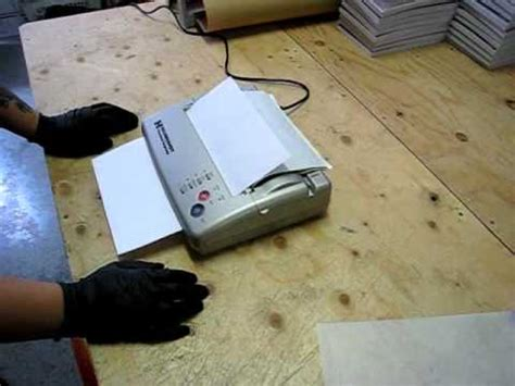 tattoo thermal printer youtube tattoo stencil printer copier from hildbrandt the