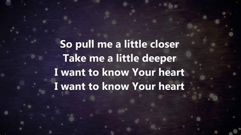 w lyrics closer bethel live w lyrics