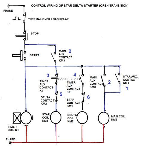 wye start delta run motor wiring diagram 40 wiring
