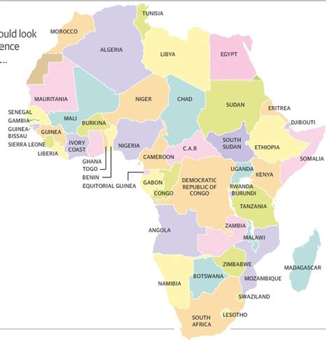 africa map interactive the separatist map of africa interactive