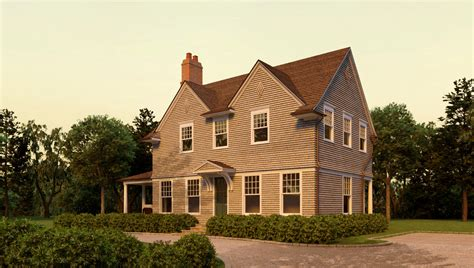 harbor shingle style home plans by david neff