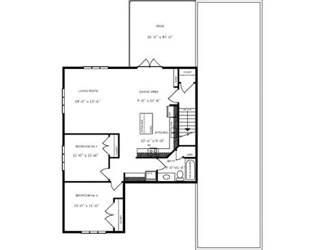 1044 sq ft cottage or cabin plan 2765 canada