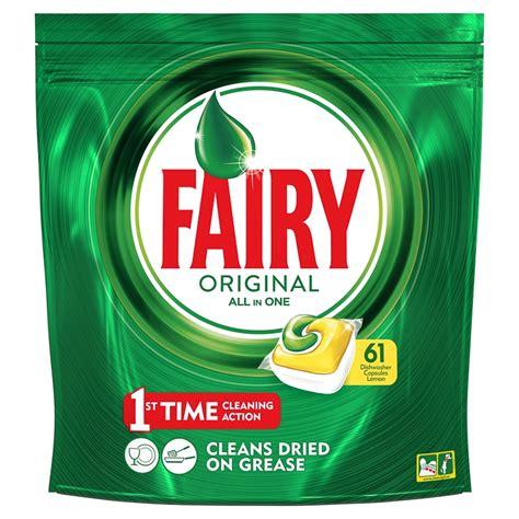 fairy original    dishwasher capsules pk bm