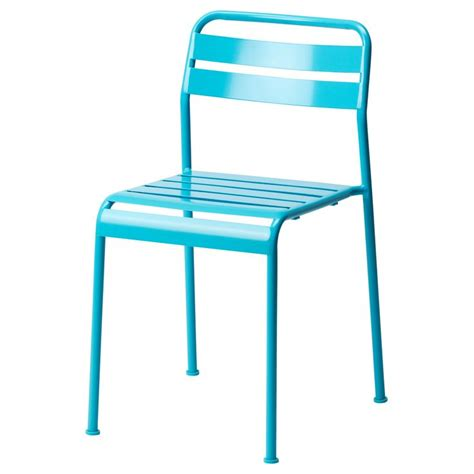 Ikea Aluminum Chair ikea metal chair furniture turquoise