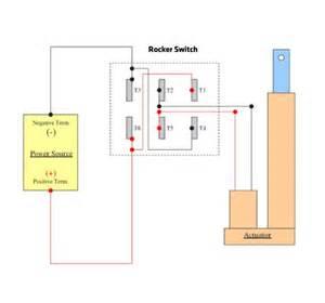 rocker switch and joystick wiring w linear actuators makezilla