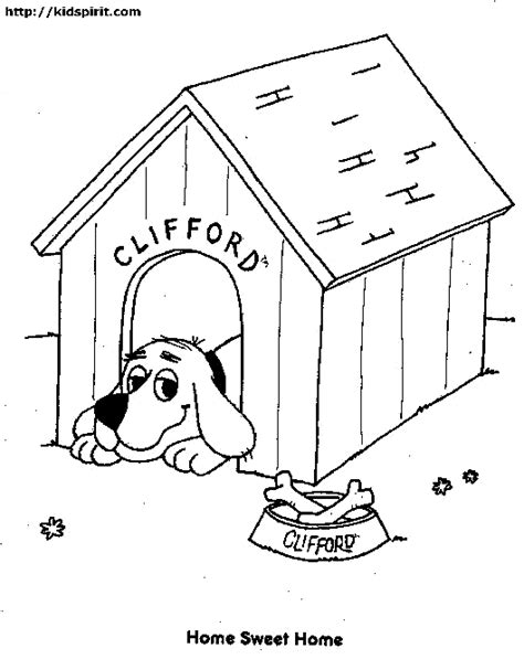 dog house coloring pages dog house coloring page coloring home