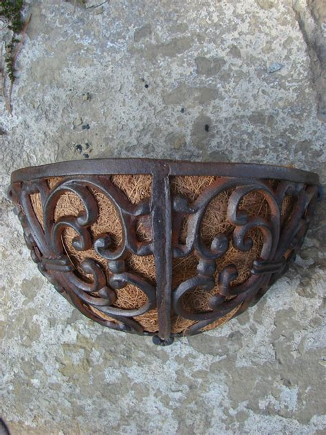 Cast Iron Wall Planter by Cast Iron Wall Planter Mondus Distinction