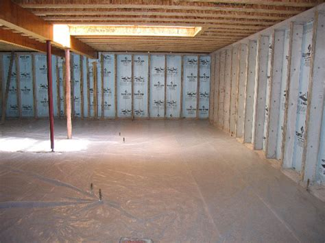 how to insulate basement walls properly proper basement insulation st menno s martin contractors