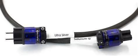 Hf Agiler Bass tellurium q ultra silver mains power cable