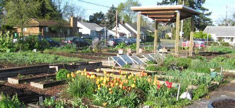 history  community gardens  portland oregon