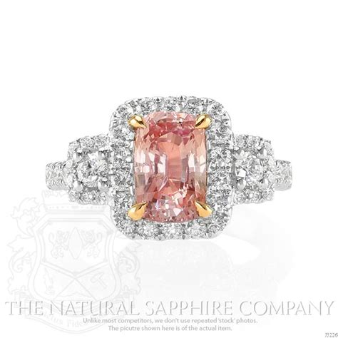 padparadscha sapphire engagement ring padparadscha sapphires 10 tips on judging the rare gem