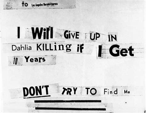 black dahlia murder letter photos the unsolved mystery