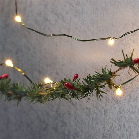 White Wire String Lights by Lights String Lights Lights Warm White 50