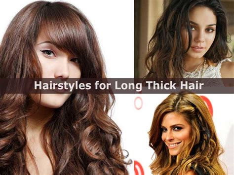 hairstyles for long thick hair easy cute and easy hairstyles for long thick hair hairstyle