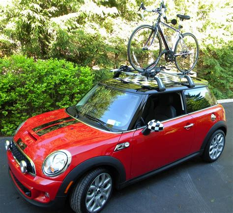 Mini Cooper Bike Rack Roof by Mini Cooper Factory Touring Roof Bike Rack Replacement