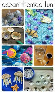 30 fantastic activities preschool ocean theme