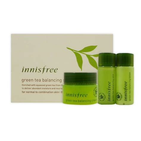 innisfree green tea balancing special kit elevenia