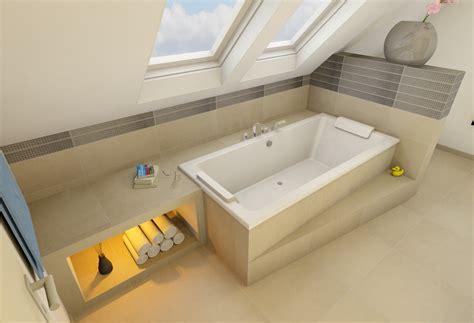 Badezimmer Modern Mit Dachschräge by Wohnideen Kleine Wohnung