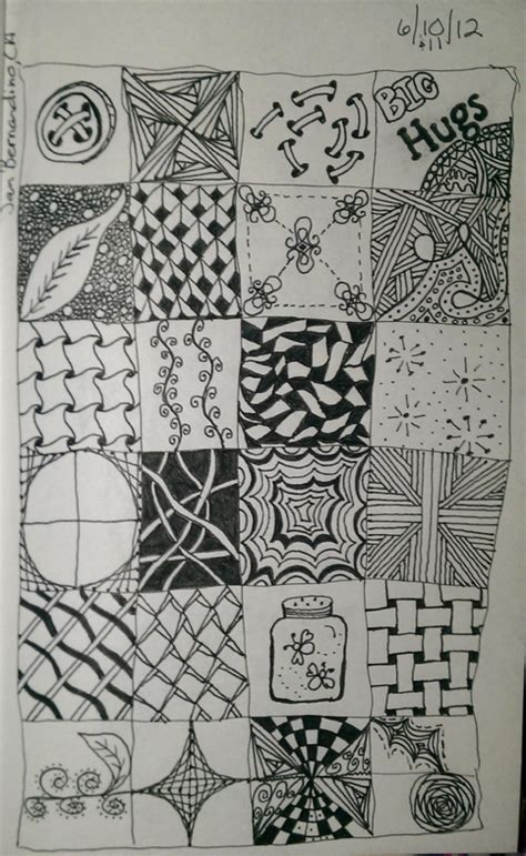 zentangle pattern sles 17 best images about zentangle quilts on pinterest