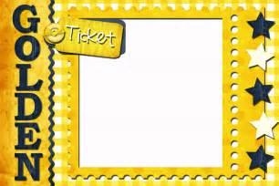 Free Golden Ticket Template by Golden Ticket Template New Calendar Template Site