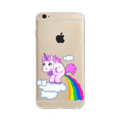 Unicorn Y0701 Iphone 5 5s rainbow unicorn tpu soft back cover for