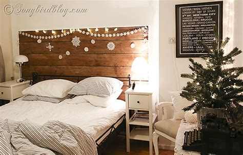 decorate your bedroom christmas decorating in the bedroom