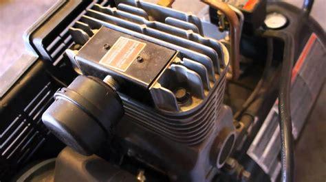 craftsman air compressor youtube