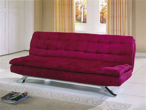 homelegance futon homelegance mushy futon sofa violet red microfiber 4788rd