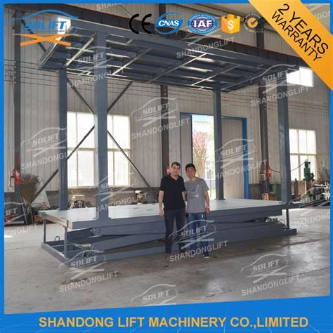In Ground Garage Lift by Deck Car Parking Lift Garage Car Elevator From