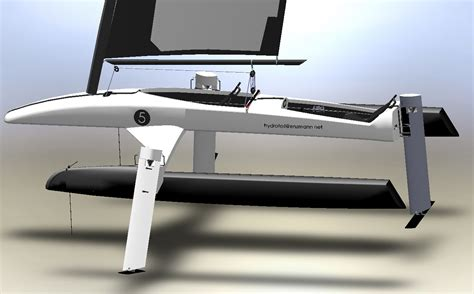 hydrofoil behind a boat hydrofoil home en