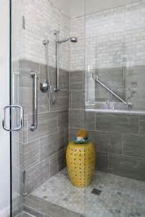 Gray Bathroom Tile Ideas by 40 Gray Shower Tile Ideas And Pictures