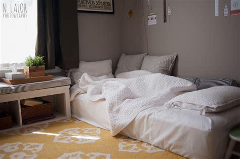 bed on the floor bedroom ideas mattress on floor home delightful